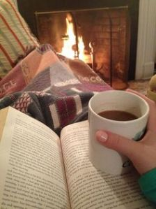 Reading on a cold day